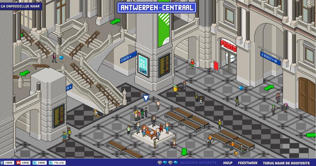 Antwerpen-Centraal - Stationsroman
